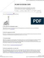 Centrifugal pump system tip..