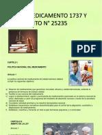 Ley del medicamento 1737 BOLIVIA