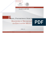 Perfil, parámetros e indicadores  Doc Téc Doc EMS