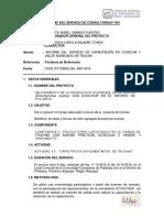 INFORME CAPACITACION VALOR AGREGADO POLOBAYA FINAL