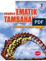 Buku Teks Kbsm Tingkatan 4 Matematik Tambahan