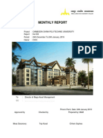 CCPU-Monthly Progress Report No.003-January.19