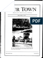 Our Town October 11, 1929