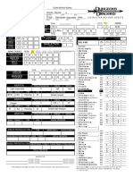 Dungeons and Dragons 3rd. Edition - Character sheet (2)