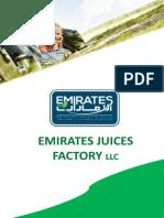 Emirates Juices Factory