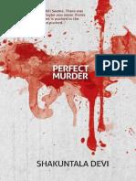 Perfect Murder by Devi Shakuntala