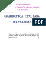 DISPENSA-DI-GRAMMATICA-ITALIANA-MORFOLOGIA-PREDISPOSTA-PER-ALUNNI-DELLA-PRIMA-MEDIA-CON-DIFFICOLTA-DI-APPRENDIMENTO
