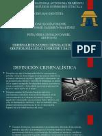 DACTILOSCOPIA PRESENTACIÓN