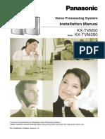 Installation_Manual KX-TVM 200