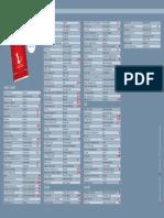 La liste des 145 restaurants du Passeport Gourmand
