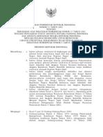 Pp2002_21_perubahan Atas Peraturan Pemerintah Nomor 15 Tahun 2001 Tentang Pengalihan Status Anggota Tentara Nasional Indonesia Dan Anggota Kepolisian Negara Republik Indonesia Menjadi Pe
