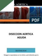 DISECCIÓN AÓRTICA - TEP SEMINARIO MODIFICADOOOOOO.pptx