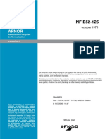 NF E 52-125 Ponts Roulants--Recommandations pour l'Adjonction d'une Commande au Sol