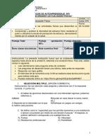 Guía de trabajo domiciliario para Educación Física