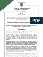 Resolucion 371 de 2009 - Devolucion medicamentos vencidos
