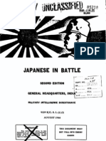 Japanese in Battle