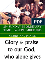SUN, TAG, 23rd Sunday in Ordinary Time, St. James.ppt