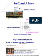 Mai Chau tours, Sapa homestay, ba be tours, mekong delta tour and homestay Vietnam tours