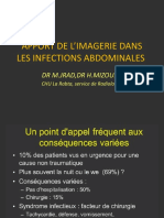 Apport de l'imagerie dans les infections abdominales