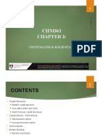 CHM361-CHAPTER 3 SOLID