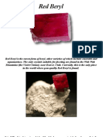 Red Beryl Piedra de Utah