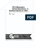 Merrill's Marauders, Combined Operations in Northern Burma in 1944