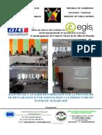 Rapport de l'atelier formation sur la procédure de déclaration d'association