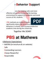 Parent PBS Power Point