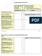 EDTO Module 8 - Gap Assessment Worksheet