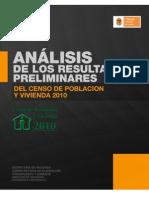 Analisis para Chiapas de los resultados preliminares del Censo 2010