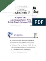 Chapitre3 :(Auto) Commutateur Privé Private Branch Exchange (PBX)