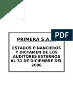 Modelo Informe de Auditoria y carta de control interno
