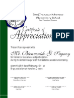 Certificate of appreciation 3 certificate of appreciation sfaes yelopaper Choice Image