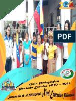 Guia Pedagogica Educacion Primaria Semana Del 16 Al 20-11-2020