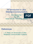 CH1_Ultra WideBand Communication