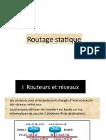 2 -Chapitre I I   Routage statique
