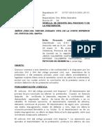 DESESTIMIENTO DE LA ACCION calderon