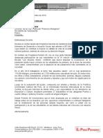 Carta Agradecimiento Colegios País