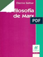 La Filosofía de Marx