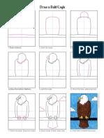 como desenhar aguia