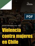 Violencia de género dossier 2020