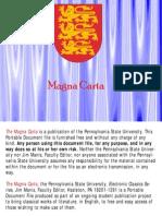 US La Magna-Carta La carta magna La primera constitucion GL