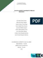TALLER REDACCION CONTRATO DE MANDATO FIRMA DE ABOGADOS (1)