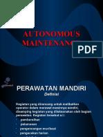 3. AUTONOMOUS MAINTENANCE