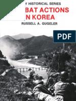 Combat Actions in Korea