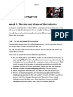 dss week 7 the industry