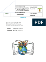 4° PERIODO C. SOCIALES  30 OCT