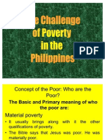 4 - PPT on The Challenge of Poverty (Short Version) by Bp Broderick Pabillo