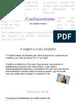 O CONFUCIONISMO -EMRC - Joana Beatriz