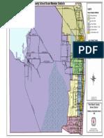 District map for Palm Beach Beach County School Board